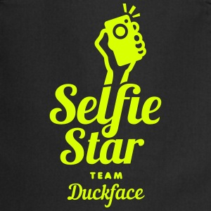selfi star team duckface social net  Aprons - Cooking Apron