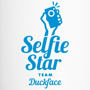 selfi star team duckface social net - Thermobecher