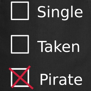 Single Taken Pirate Kookschorten - Keukenschort