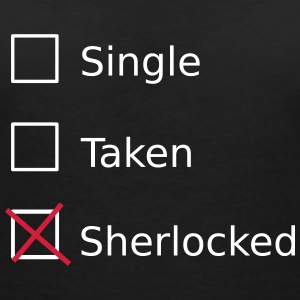 Single Taken Sherlocked Tee shirts - T-shirt col V Femme