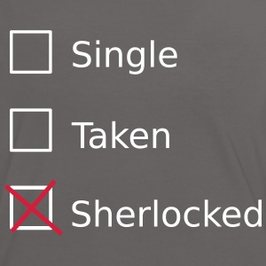 Single Taken Sherlocked T-Shirts - Frauen Kontrast-T-Shirt