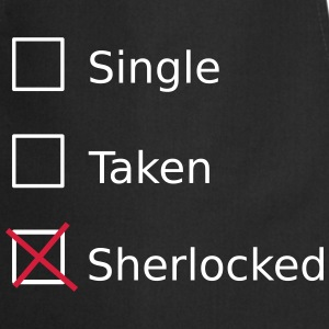 Single Taken Sherlocked Kookschorten - Keukenschort