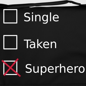 Single Taken Superhero Tassen & rugzakken - Schoudertas