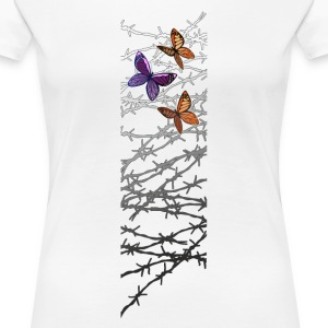 Barbed wire T-Shirts - Women's Premium T-Shirt