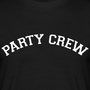 Party Crew (Varsity Style) T-Shirts - Men's T-Shirt