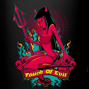 Devil Pin-Up Girl - Touch of evil Flaschen & Tassen - Tasse einfarbig