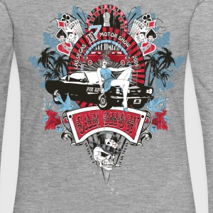 Pin Up Girl - Car Show No.02 Langarmshirts - Frauen Premium Langarmshirt