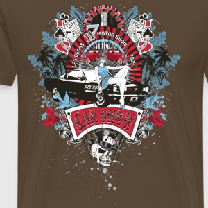 Pin Up Girl - Car Show No.02 T-Shirts - Männer Premium T-Shirt