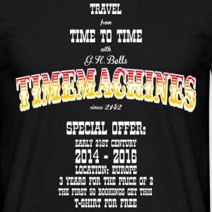 Timemachine for Dark Shirts T-Shirts - Männer T-Shirt