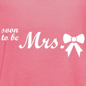 soon to be mrs Tops - Vrouwen tank top van Bella