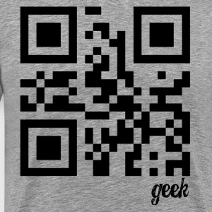 QR Code Geek - Men's Premium T-Shirt