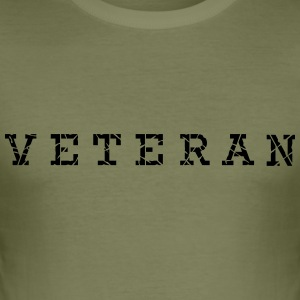 veteran_vec_1 en T-Shirts - Men's Slim Fit T-Shirt