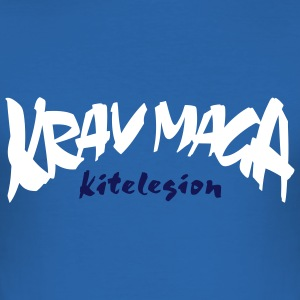 kitelegion_vec_2c_krav_maga T-shirts - slim fit T-shirt