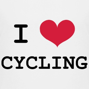 I Love Cycling Shirts - Kids' Premium T-Shirt