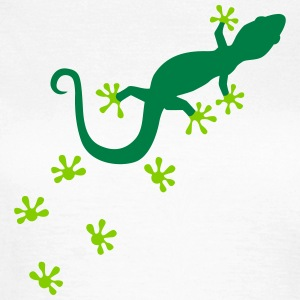 Gecko T-Shirts - Frauen T-Shirt