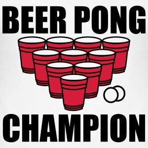 Beer Pong Champion T-Shirts - Männer Slim Fit T-Shirt