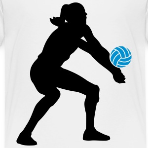 Volleyball Girl Tee shirts - T-shirt Premium Enfant