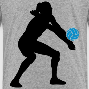 Volleyball Girl T-Shirts - Kinder Premium T-Shirt