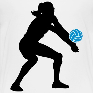 Volleyball Girl T-Shirts - Teenager Premium T-Shirt