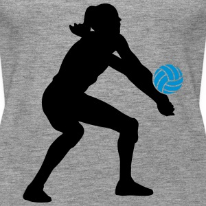 Volleyball Girl Topper - Premium singlet for kvinner