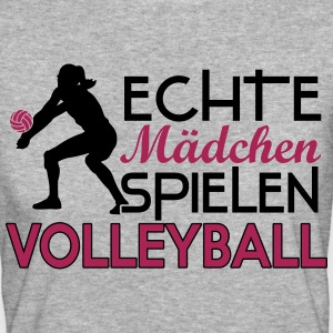 Real girls playing volleyball Tee shirts - T-shirt Bio Femme