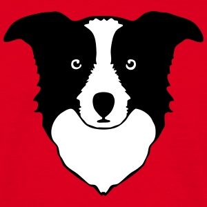 border collie Tee shirts - T-shirt Homme