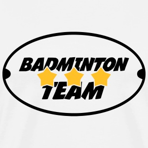 Badminton Team T-shirts - Herre premium T-shirt