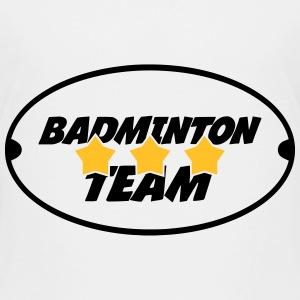 Badminton Team Shirts - Kids' Premium T-Shirt