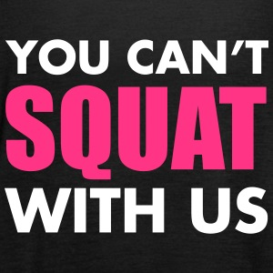 Squat Tops - Women's Tank Top by Bella