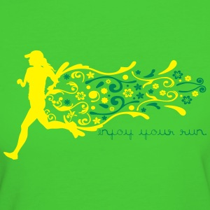 ENJOY YOUR RUN T-Shirts - Women's Organic T-shirt