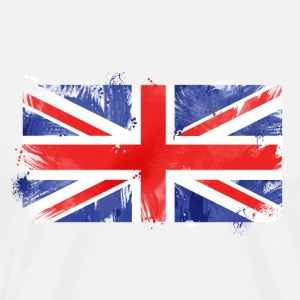 union jack brush T-Shirts - Männer Premium T-Shirt