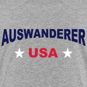 Auswanderer - USA - V3 T-Shirts - Teenager Premium T-Shirt