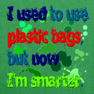 plastic bags are out - DIGITAL Bags & Backpacks - Shoulder Bag made from recycled material