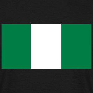 Flag of Nigeria T-Shirts - Men's T-Shirt