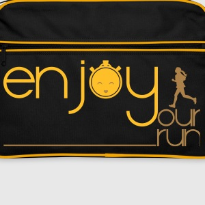 ENJOY YOUR RUN Bags & Backpacks - Retro Bag