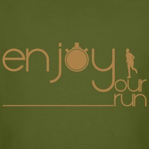 ENJOY YOUR RUN Tee shirts - T-shirt bio Homme