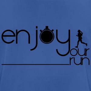 ENJOY YOUR RUN Sports wear - Men's Breathable T-Shirt