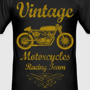 motorcycles racing team 02 Tee shirts - Tee shirt près du corps Homme