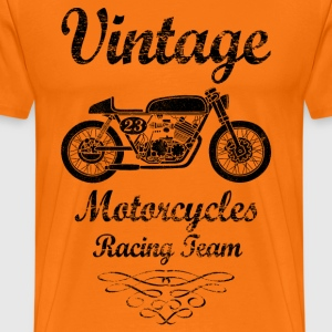 motorcycles racing team T-Shirts - Men's Premium T-Shirt