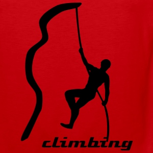 Climbing T-Shirts - Men's Premium Tank Top