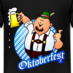 Oktoberfest - man in lederhosen Shirts - Teenager Premium T-shirt