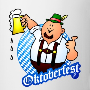 Oktoberfest - man in lederhosen Bottles & Mugs - Mug