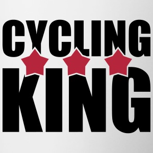 Cycling King Bottles & Mugs - Contrasting Mug