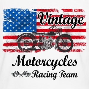 us motorcycles Tee shirts - T-shirt contraste Homme