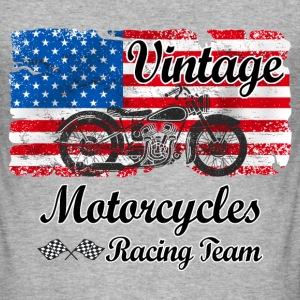 us motorcycles Tee shirts - Tee shirt près du corps Homme