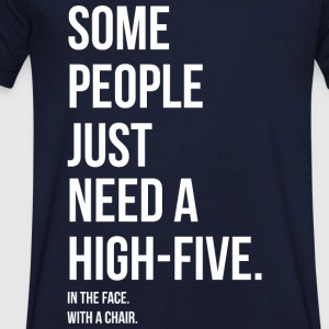 HIGH 5 IN YOUR FACE - HIGH 5 IN YOUR FACE Tee shirts - T-shirt Homme col V