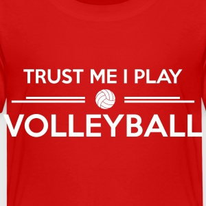Trust me I play volleyball Shirts - Kinderen Premium T-shirt
