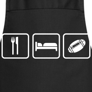 Eat Sleep American Football Grembiuli - Grembiule da cucina