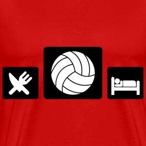 Eat Volleyball Sleep T-Shirts - Männer Premium T-Shirt
