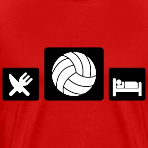 Eat Volleyball Sleep Tee shirts - T-shirt Premium Homme